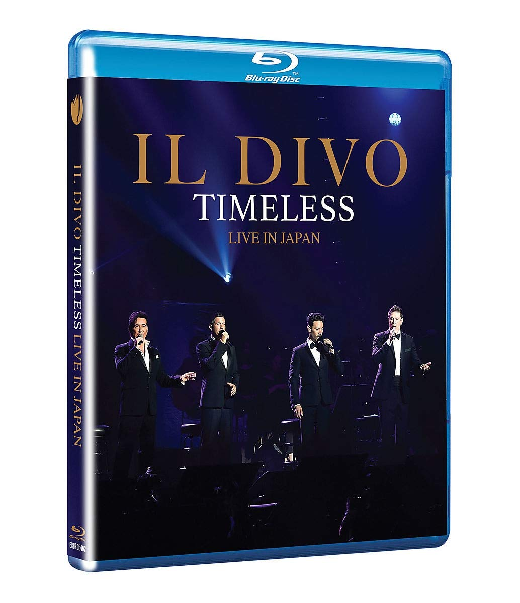Il Divo. Timeless Live In Japan (BR-A)