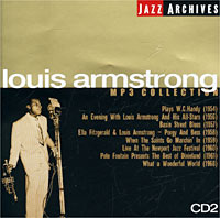 Луи Армстронг Jazz Archives. Louis Armstrong. CD 2. MP3 Collection