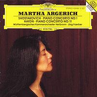 Shostakovich. Piano Concerto No. 1. Haydn. Piano Concerto No. 11. Martha Argerich