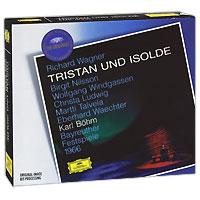 Бирджит Нильссон,Вольфганг Виндгассен,Криста Людвиг,Мартти Тальвела,Карл Бем,Bayreuth Festival Orchestra Karl Bohm. Wagner. Tristan Und Isolde (3 CD)