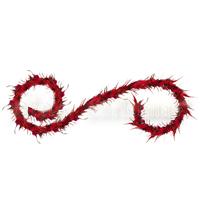 Гирлянда новогодняя, цвет: бордовый, 240 см