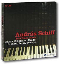 Андрас Шифф Andras Schiff. Solo Piano Music (6 CD)