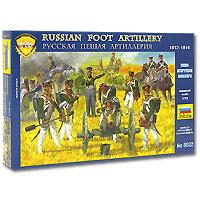 Русская пешая артиллерия 1812 - 1814 годов. Набор миниатюр