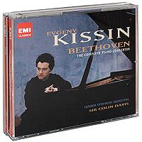 The London Symphony Orchestra,Колин Дэвис,Евгений Кисин Evgeny Kissin. Beethoven. Piano Concertos Nos. 1-5 (3 CD)