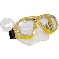 """Маска для плавания """"Bali Junior"""", цвет: желтый"""