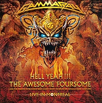 """""""Gamma Ray"""" Gamma Ray. Hell Yeah!!! Live In Montreal (2 CD)"""