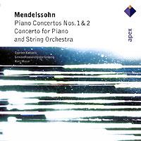 Суприен Катсарис Cyprien Katsaris. Mendelssohn. Piano Concertos Nos. 1 & 2