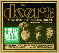 """""""The Doors"""" The Doors. Live In Boston 1970 (3 CD)"""