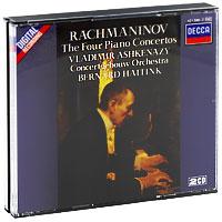 Бернард Хайтинк,Владимир Ашкенази,Concertgebouw Orchestra Bernard Haitink. Rachmaninov. The Four Piano Concertos (2 CD)