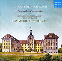 Джулия Шредер,Kammerorchester Basel,Джулиано Соммеральдер Julia Schroder. Fasch. Concerti & Ouvertueren