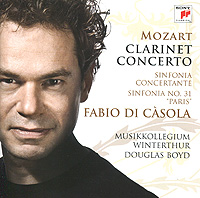Фабио Касола,Musikkolellegium Winterthur,Дуглас Бойд Fabio Di Casola. Mozart. Clarinet Concerto / Sinfonia Concertante