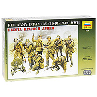 """Набор миниатюр """"Пехота Красной Армии"""""""