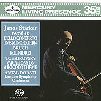 Антал Дорати,Янос Старкер,The London Symphony Orchestra Antal Dorati, Janos Starker. Dvorak. Cello Concerto (SACD)