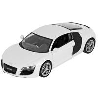 """Коллекционная модель """"Audi R8"""", цвет: белый. Масштаб 1/24"""