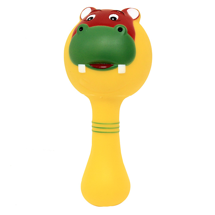 Игрушка-пищалка с ручкой