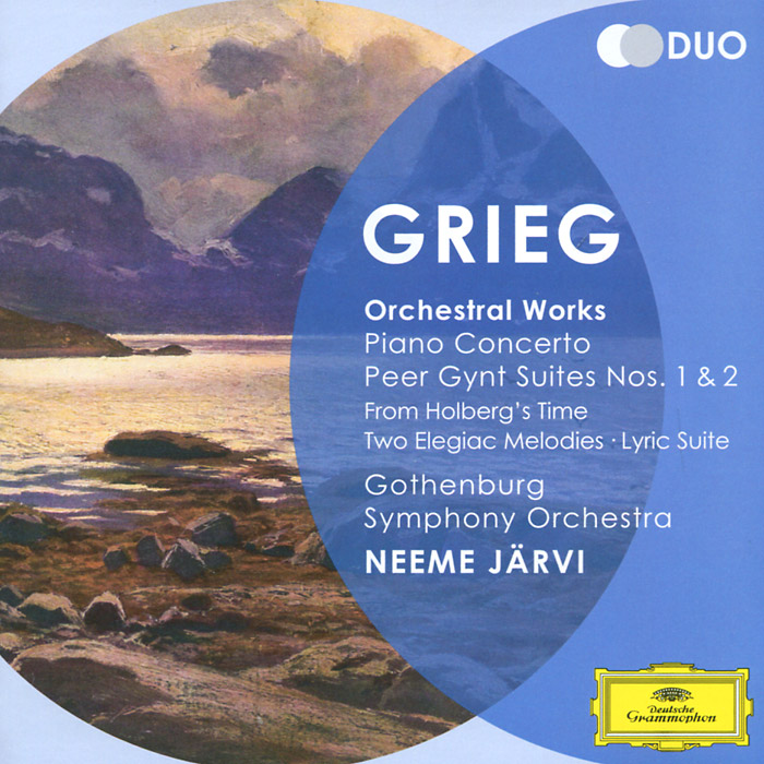 Неэме Ярви,Gothenburg Symphony Orchestra,Лиля Зильберштайн Neeme Jarvi. Grieg. Piano Concerto / Peer Gynt Suites, Nos. 1 & 2 (2 CD) basharat peer curfewed night