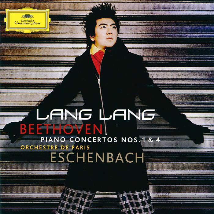 Ланг Ланг,Orchestre De Paris,Кристоф Эшенбах Lang Lang. Beethoven. Piano Concertos Nos. 1 & 4 (CD + DVD)