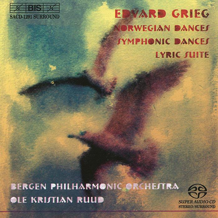 лучшая цена Bergen Philharmonic Orchestra,Оле Кристиан Рууд Grieg. Norwegian Dances. Symphonic Dances. Lyric Suite (SACD)