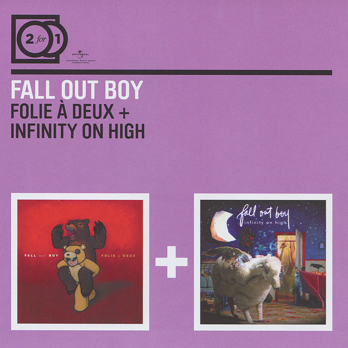 """""""Fall Out Boy"""" Fall Out Boy. Follie A Deux / Infinity On High (2 CD)"""