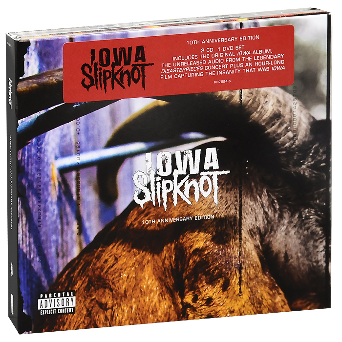 """Slipknot"" Slipknot. Iowa. 10th Anniversary Edition (2 CD + DVD)"