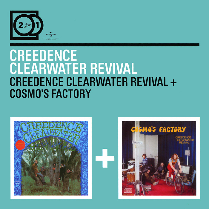 Creedence Clearwater Revival Creedence Clearwater Revival. Creedence Clearwater Revival / Cosmo's Factory (2 CD) revival