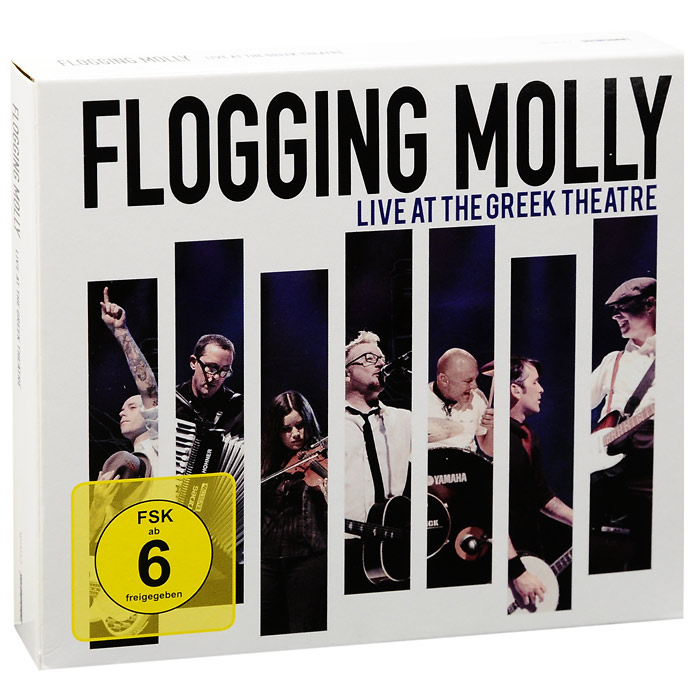 """""""Flogging Molly"""" Flogging Molly. Live At The Greek Theatre (2 CD + DVD)"""