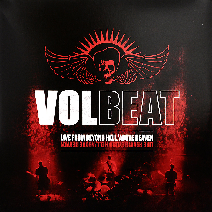 Volbeat Volbeat. Live From Beyond Hell / Above Heaven (3 LP) heaven n hell heaven