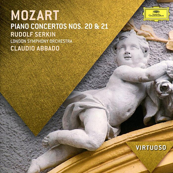 Клаудио Аббадо,Рудольф Серкин,The London Symphony Orchestra Claudio Abbado. Mozart. Piano Concertos Nos. 20 & 21