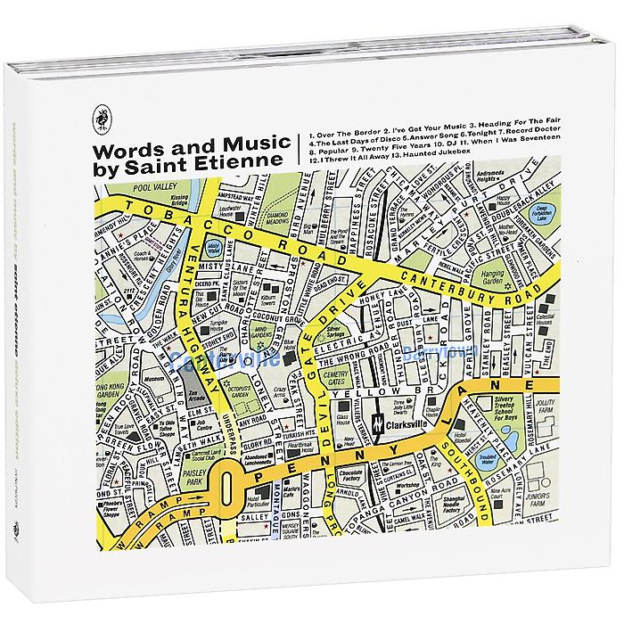 """Saint Etienne"" Saint Etienne. Words And Music By Saint Etienne. Deluxe Edition (2 CD)"
