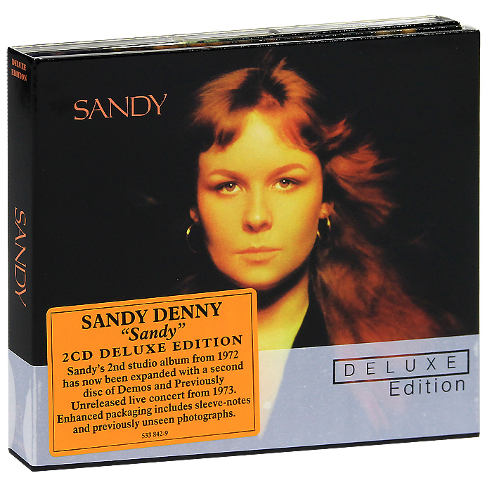 Сэнди Денни Sandy Denny. Sandy. Deluxe Edition (2 CD)