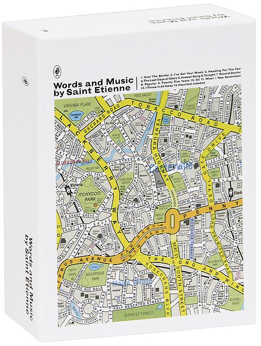 """""""Saint Etienne"""" Saint Etienne. Words And Music By Saint Etienne (3 CD)"""