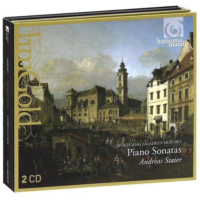 Андреас Стайер,Вольфганг Моцарт Andreas Staier. Mozart. Piano Sonatas (2 CD)