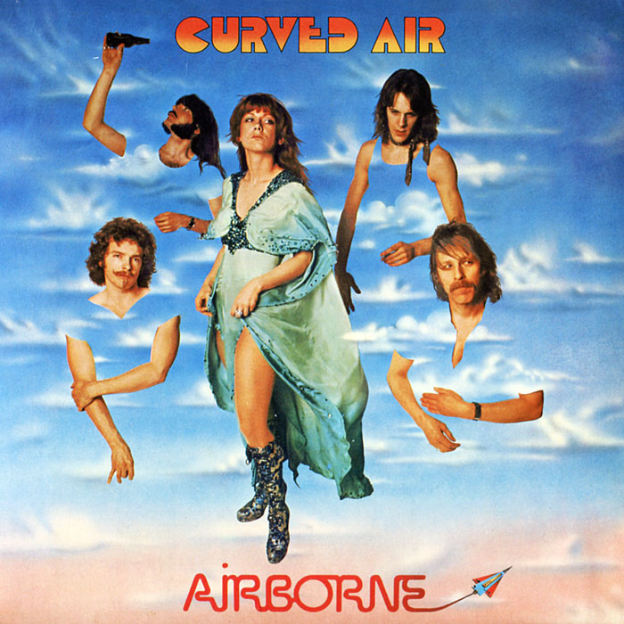 """Curved Air"" CURVED AIR Airborne CD DigiSleeve"