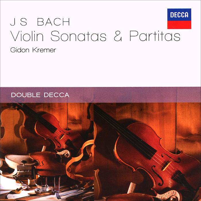 Гидон Кремер Gidon Kremer. Bach. Sonatas & Partitas, BWV 1001-1008 (2 CD) лара лев lara lev bach sonatas and partitas for solo violin vol 1