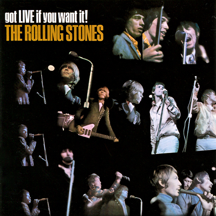 """""""The Rolling Stones"""" The Rolling Stones. Got Live If You Want It"""