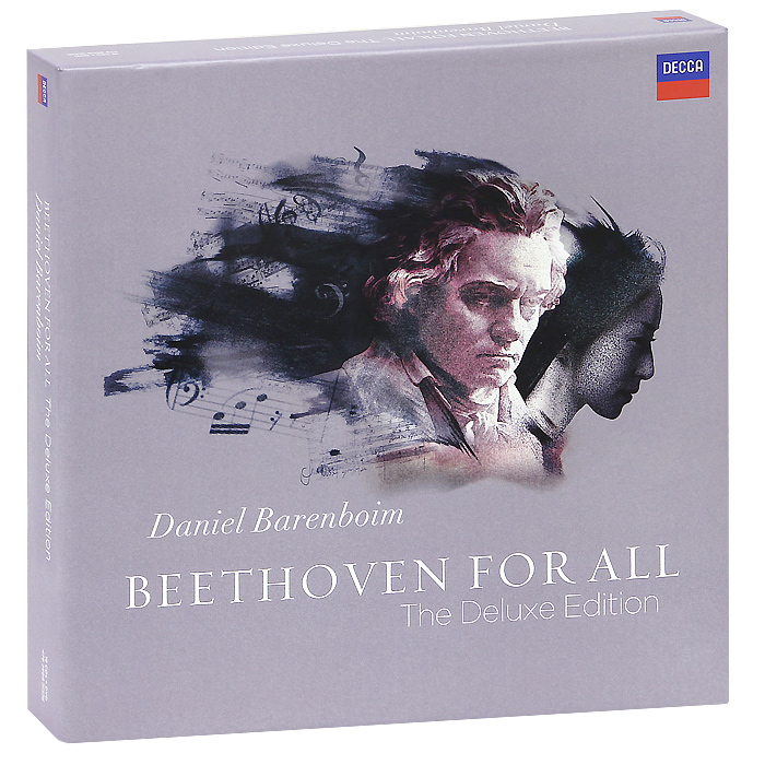 Daniel Barenboim. Beethoven. Beethoven For All. The Deluxe Edition (19 CD + DVD)