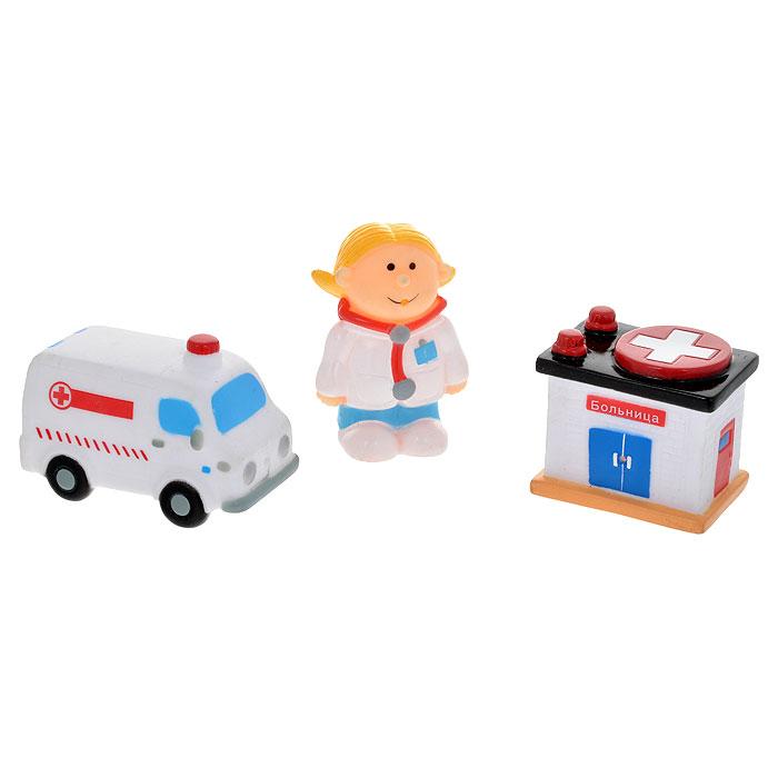 """Набор игрушек для ванны Курносики """"Скорая помощь"""""""