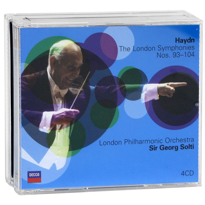 Георг Шолти,The London Philharmonic Orchestra Sir Georg Solti, London Philharmonic Orchestra. Haydn. The 12 London Symphonies (4 CD)