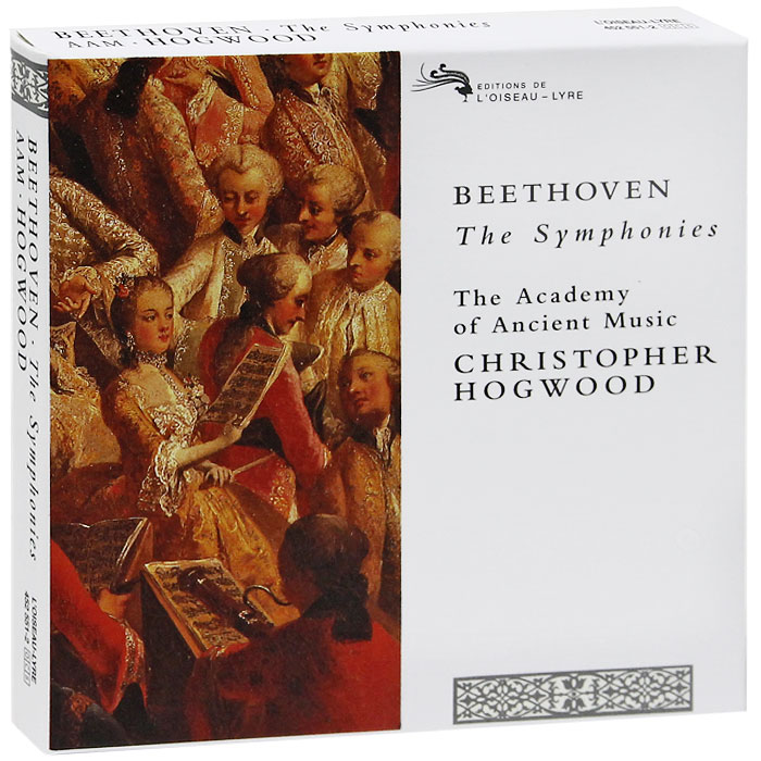 Кристофер Хогвуд,The Academy Of Ancient Music Christopher Hogwood, The Academy Of Ancient Music. Beethoven. The Symphonies (5 CD)