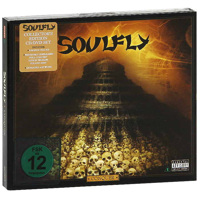 """""""Soulfly"""" Soulfly. Conquer. Collector's Edition (CD + DVD)"""