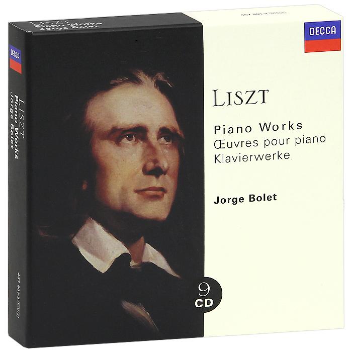 Хорхе Болетт Jorge Bolet. Liszt. Piano Music (9 CD)