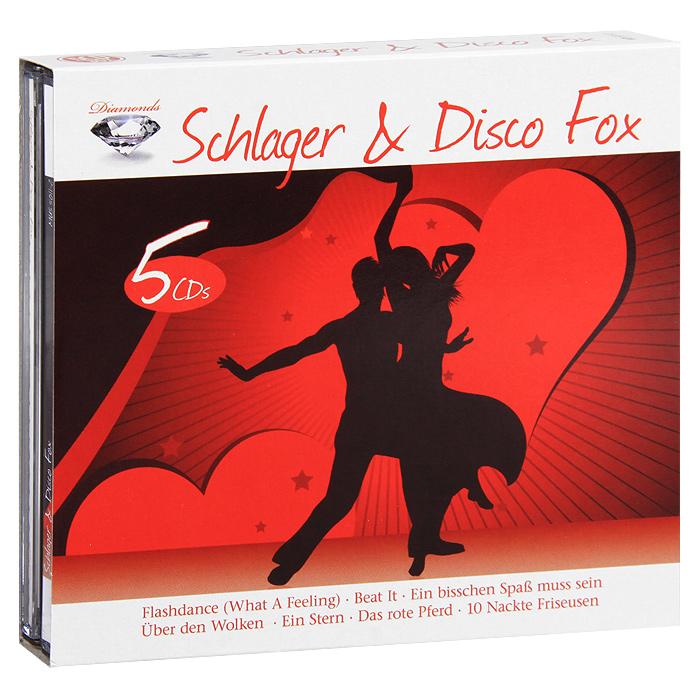Diamonds. Schlager & Disco Fox (5 CD) цена