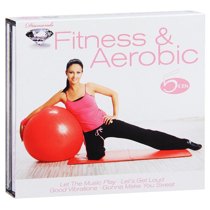 Diamonds. Fitness & Aerobic (5 CD) цена