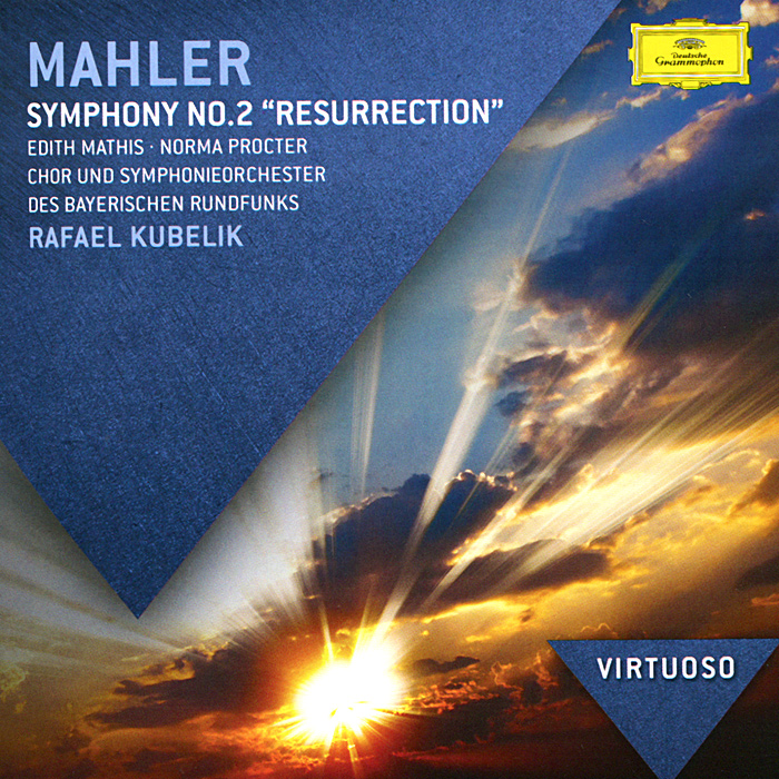 Эдит Мэтис,Норма Проктер,Chor Des Bayerischen Rundfunks,Вольфганг Шуберт,Symphonie-Orchester Des Bayerischen Rundfunks,Рафаэль Кубелик Gustav Mahler. Symphony No.2