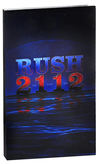 """Rush"" Rush. 2112. Deluxe Edition (CD + Blu-ray)"