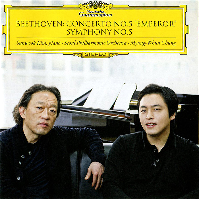 "Мюнг-Вун Чунг,Санвук Ким,Seoul Philharmonic Orchestra Myung-Whun Chung. Beethoven. Concerto No.5 ""Emperor"". Symphony No.5"