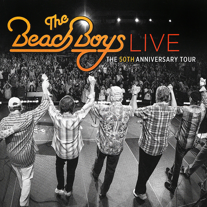 """The Beach Boys"" The Beach Boys. The Beach Boys Live 50th Anniversary Tour (2 CD)"