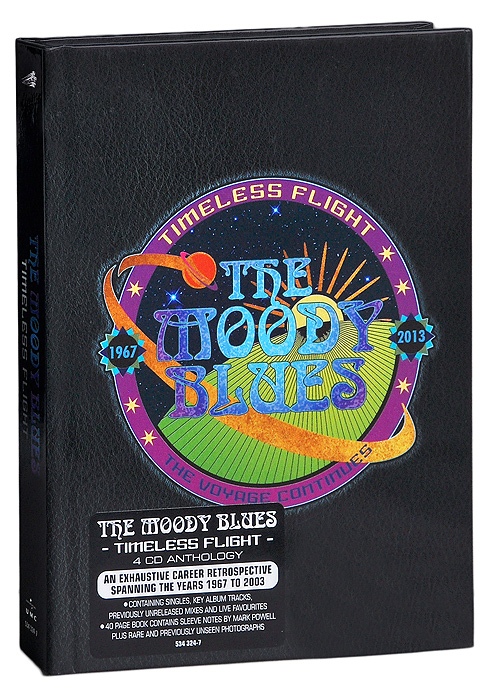 """The Moody Blues"" The Moody Blues. Timeless Flight (4 CD)"