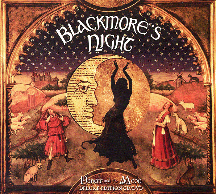 """""""Blackmore's Night"""" Blackmore's Night. Dancer And The Moon. Deluxe Edition (CD + DVD)"""