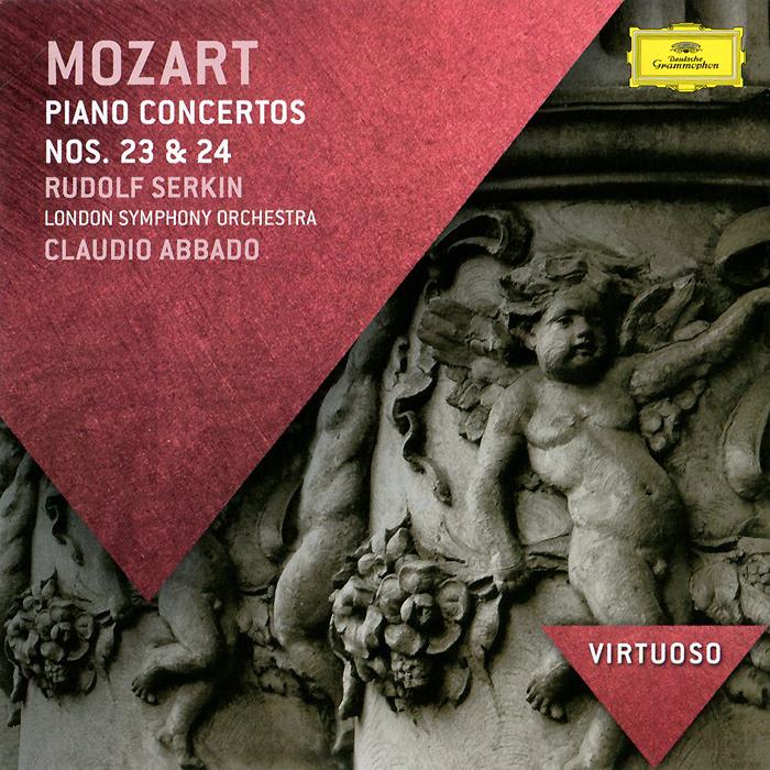 Клаудио Аббадо,Рудольф Серкин,The London Symphony Orchestra Claudio Abbado, Rudolf Serkin. Mozart. Piano Concertos Nos. 23 & 24